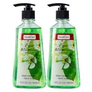 Panrosa Pear Blossom Scented Hand Soap 2 Pack (443.6ml per pack)