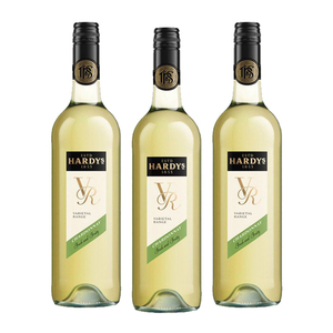 Hardy's VR Chardonnay White Wine 3 Pack (750ml per Bottle)