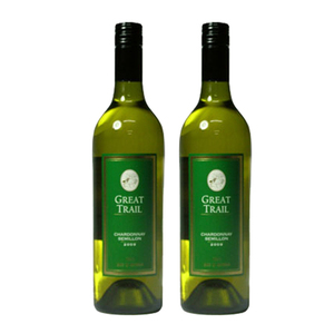 Great Trail Chardonnay Semillon White Wine 2 Pack (750ml per Bottle)
