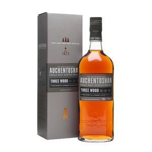Auchentoshan Three Wood Scotch Whisky 3 Pack (700ml per Bottle)