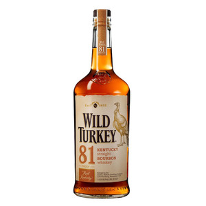 Wild Turkey 81 Kentucky Straight Bourbon Whisky 750ml
