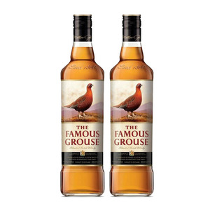 Famous Grouse Blended Scotch Whisky 2 Pack (700ml per Bottle)