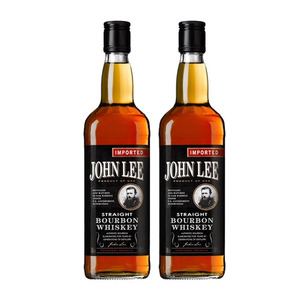 John Lee Straight Bourbon Whiskey 2 Pack (700ml per Bottle)