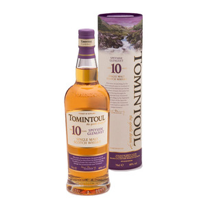 Tomintoul 10 Year Old Single Malt Scotch Whisky 3 Pack (700ml per Bottle)