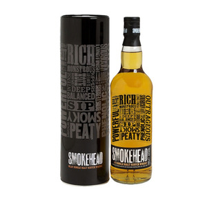Smokehead Islay Single Malt Scotch Whisky 2 Pack (700ml per Bottle)