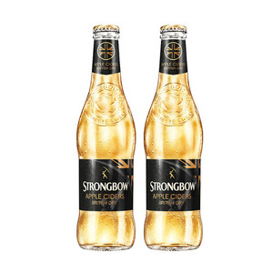Strongbow British Dry Apple Cider 2 Pack (330ml per Bottle)
