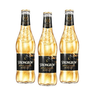 Strongbow British Dry Apple Cider 3 Pack (330ml per Bottle)