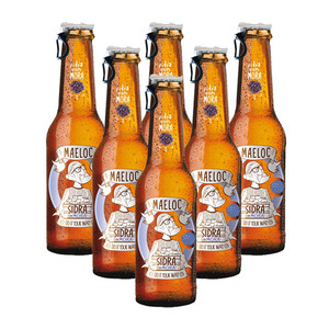 Maeloc Sidra Con Mora Hard Cider Flavours 6 Pack (330ml per Bottle)