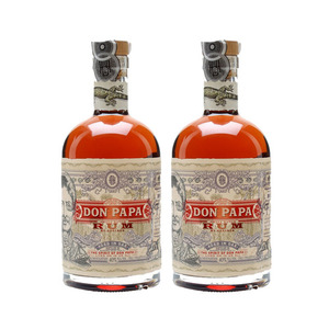Don Papa Small Batch Rum 2 Pack (700ml per Bottle)