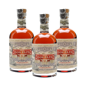 Don Papa Small Batch Rum 3 Pack (700ml per Bottle)