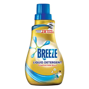 Breeze Liquid Detergent Stain Action 1L