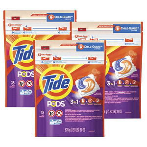 Tide Pods Spring Meadow 3 Pack (38CT per Pack)