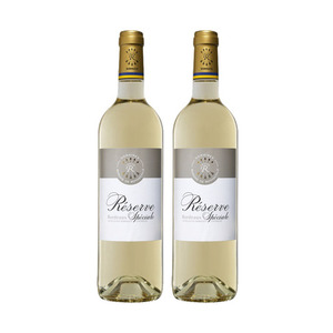 Barons de Rothschild Lafite Reserve Speciale Bordeaux Blanc 2 Pack (750ml per Bottle)