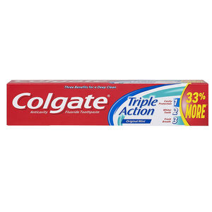 Colgate Triple Action Toothpaste 175g