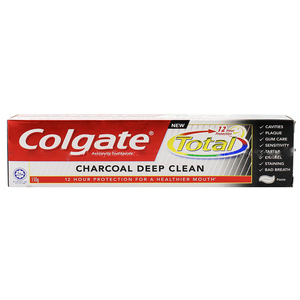 Colgate Total Charcoal Deep Clean Mult-Benefit Toothpaste 150g