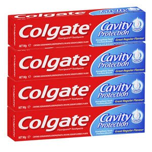 Colgate Cavity Protection Toothpaste 4 Pack (113.3g per pack)