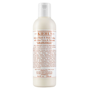 Kiehls Deluxe Hand & Body Lotion With Aloe Vera & Oatmeal Grapefruit