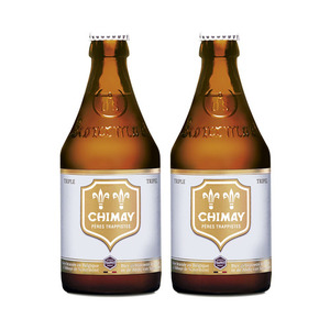 Chimay Triple Ale 2 Pack (330ml per Bottle)