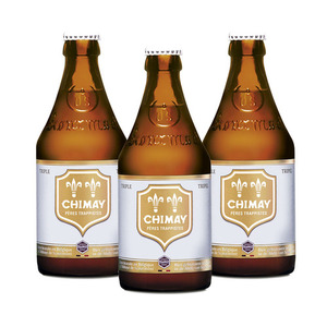 Chimay Triple Ale 3 Pack (330ml per Bottle)