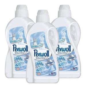 Perwoll Brilliant White Liquid Detergent 3 Pack (2L per Pack)