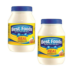 Best Foods Real Mayonnaise 2 Pack (1kg per Bottle)