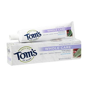 Tom's of Maine Peppermint Whole Care Natural Toothpaste 85ml