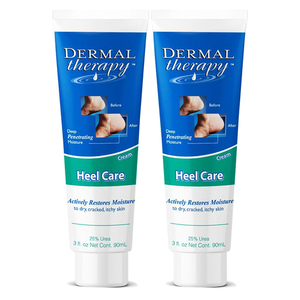 Dermal Therapy Heel Care 2 Pack (90ml per pack)
