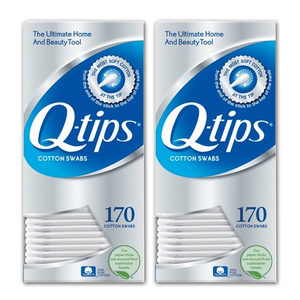 Q-Tips Cotton Swabs 2 Pack (170's per pack)