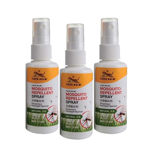 Tiger Balm Mosquito Repellent Spray 3 Pack (60ml per pack)