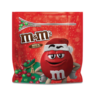 M&M'S Holiday Milk Chocolate Christmas Candy Party 1190g