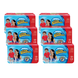 Huggies Little Swimmers Diapers Large 6 Pack (10's per Pack)