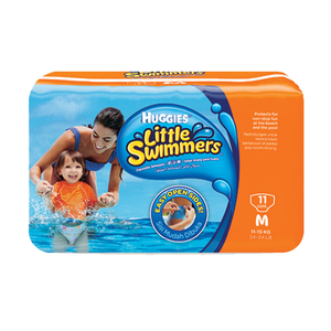 Huggies Little Swimmers Diapers Medium 11's