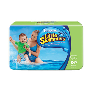 Huggies Little Swimmers Diapers Small 12's