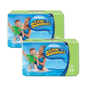 Huggies Little Swimmers Diapers Small 2 Pack (12's per Pack)