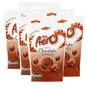 Nestle Aero Chocolate With An Aerated Centre 6 Pack (113g per pack)