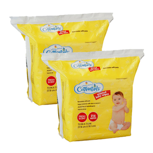 Cottontails Scented Baby Wipes 2 Pack (216ct per Pack)