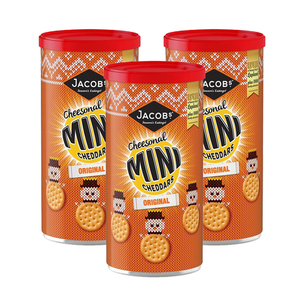 Jacob's Mini Cheddars Original 3 Pack (260g per Pack)
