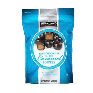 Kirkland Dark Chocolate Salted Caramel Poppers 907.1g