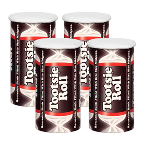 Tootsie Roll Bank 4 Pack (113g per Pack)