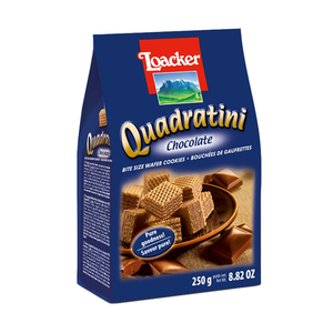 Loacker Quadratini Chocolate Wafer 250g