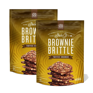 Sheila G's Toffee Crunch Brownie Brittle 2 Pack (142g per Pack)