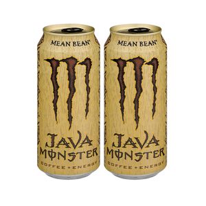 Monster Java Coffee + Energy Mean Bean 2 Pack (443.6ml per pack)