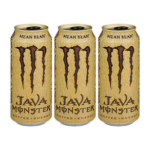 Monster Java Coffee + Energy Mean Bean 3 Pack (443.6ml per pack)