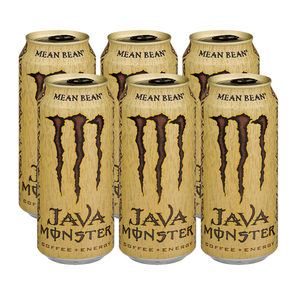 Monster Java Coffee + Energy Mean Bean 6 Pack (443.6ml per pack)