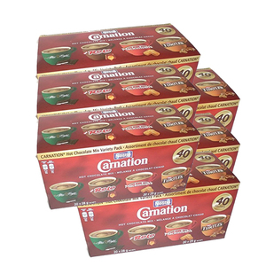 Nestle Carnation Hot Chocolate Mix Variety 6 Pack (40's per pack)