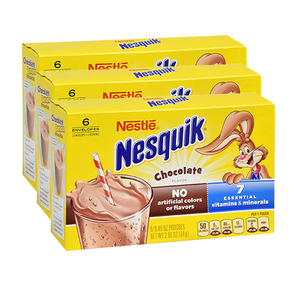 Nestle Nesquik Powdered Chocolate Milk 3 Pack (84g per pack)