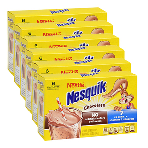 Nestle Nesquik Powdered Chocolate Milk 6 Pack (84g per pack)