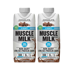 Muscle Milk Light Protein Shake Chocolate 2 Pack (325.3ml per pack)