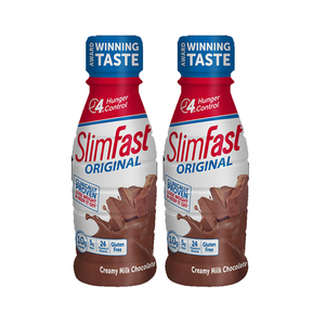 SlimFast Milk Chocolate Original 2 Pack (325.3ml per pack)