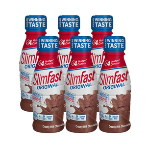SlimFast Milk Chocolate Original 6 Pack (325.3ml per pack)